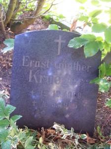 Grabstein Günther Krueger