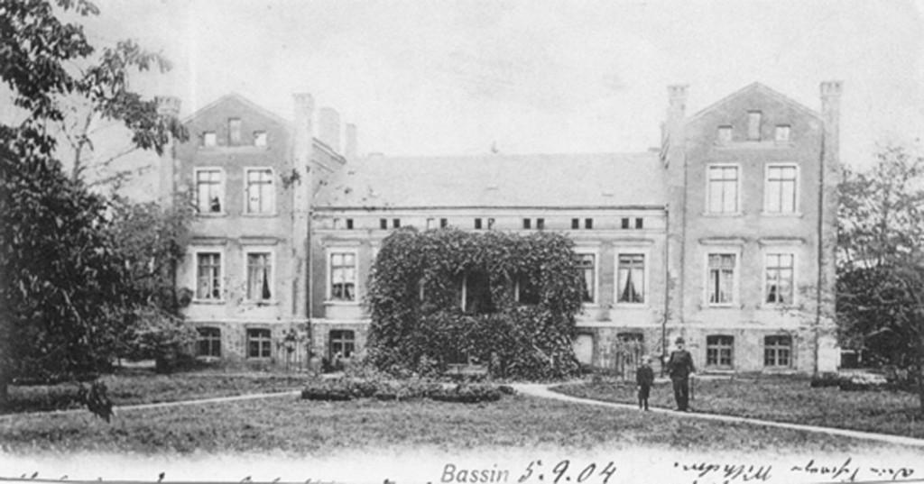 Die Rückseite des Herrenhauses