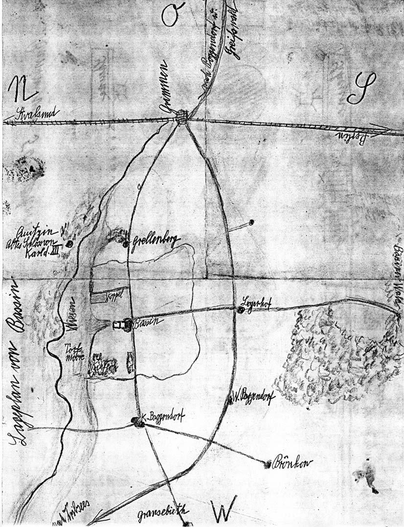 Lageplan Bassin Gezeichnet von Tigerstroem