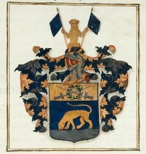 Wappen der Familie von Tigerström